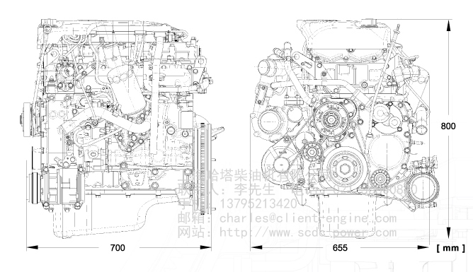 F1C Diesel Engine for IVECO